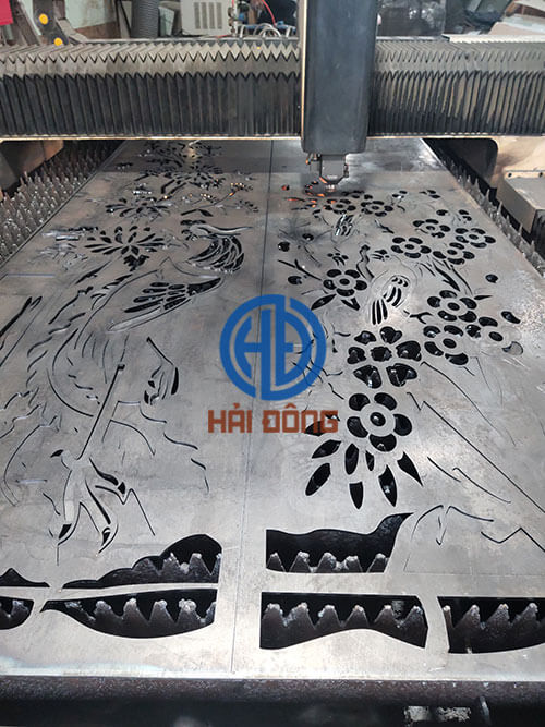 Cắt laser cổng cửa sắt cnc