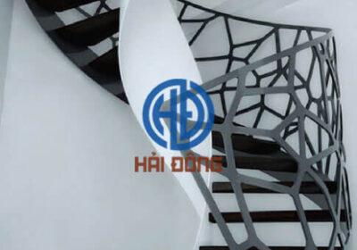 Mẫu cầu thang sắt CNC