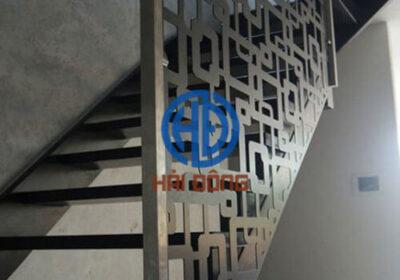 Cầu thang sắt nghệ thuật CNC