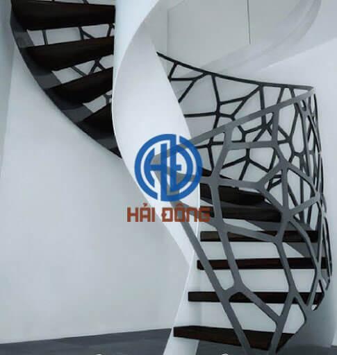 Cầu thang sắt mỹ thuật CNC